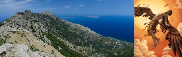 Monti di Icaria, immagine Icaro