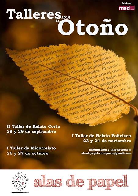 Talleres de Relatos en Antequera