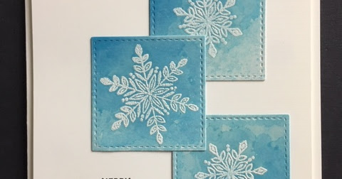 Snowflake Sentiments, Seasonal Chums, Snowflake Christmas Card