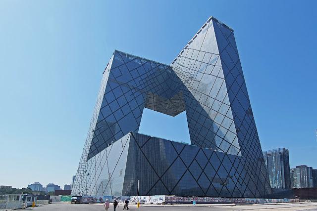 المقر الرئيسي لتلفزيون CCTV الحكومي الصيني