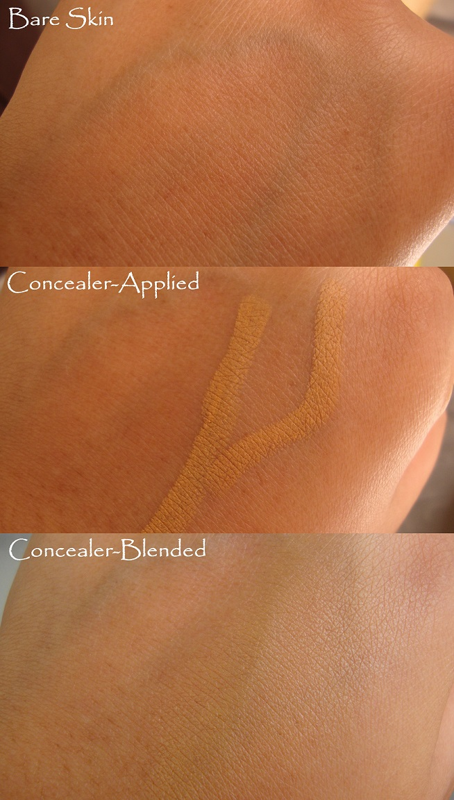 "Colorbar Instant Coverup Stick Concealer in ""003 Almond Coffee"" : Demo Pictures and Review"