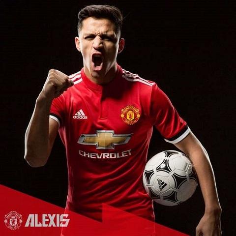 Tân binh mới của Arsenal Alexis Sanchez