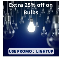 Get Extra 25% Off on Bulbs & Lights (Philips & Eveready) @ Nearbuy
