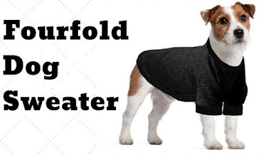 Fourfold Dog Sweater by petsducky.com