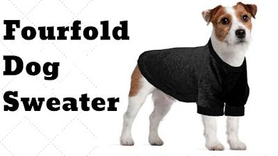 Fourfold Dog Sweater by petsducky.com
