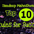Sandeep Maheshwari's Top 10 Rules For Success - Success tips by Sandeep Maheshwari's