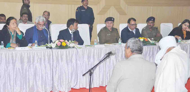 Minister of State for Cooperative Affairs, Manish Grover, visited Faridabad;