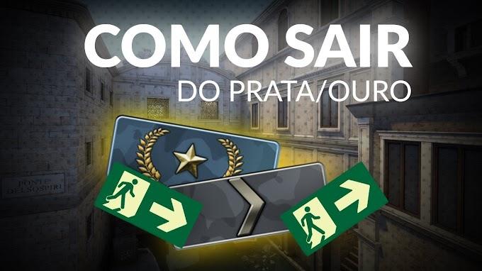 CS:GO COMO SAIR DO PRATA / OURO