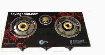 002f3036e Surya Alisha 3 Burner Gas Stove Rs. 1530 – SnapDeal ~ SavingBaba ...