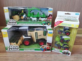 Mini farma artyk, najlepsza zabawka dla dzieci. Farma dla maluszków