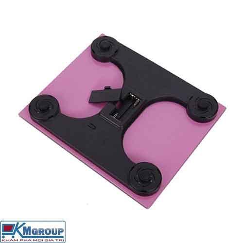 Cân điện tử sức khỏe vuông KM2015C mặt kính cường lực giá sỉ và lẻ rẻ nhất
