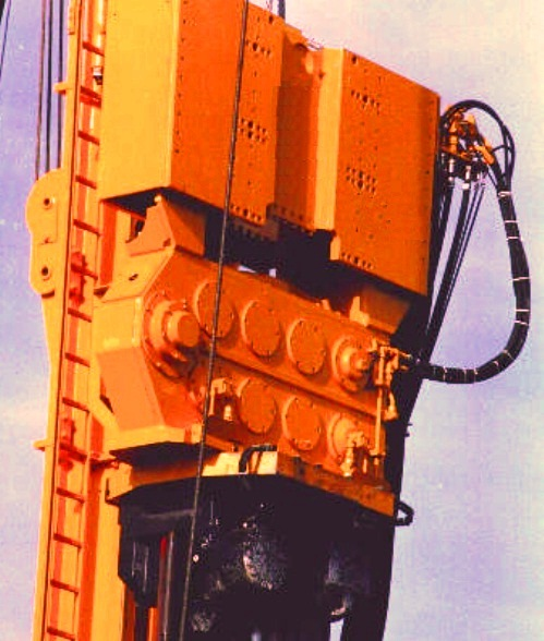 Vibratory pile Hammer for pile foundation operation