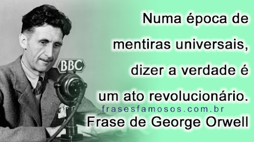 Frase de George Orwell
