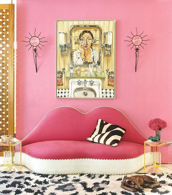 Sofa Accessories Names Velvet Corner Ireland 50 Shades 0f Pink - Preppy Empty Nester F