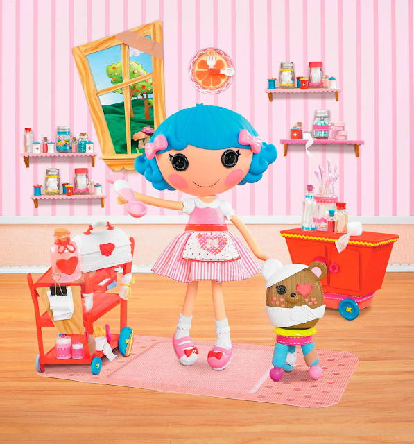 boneca lalaoopsy Enfermeira