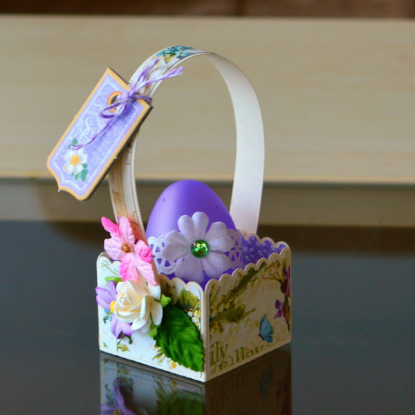 Beautiful Mini Easter Baskets