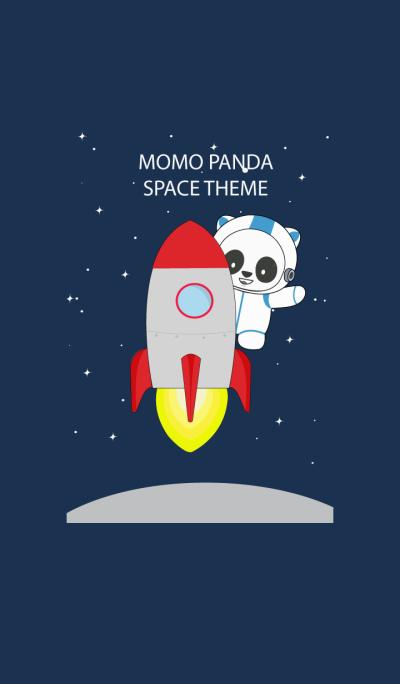 MOMO PANDA SPACE THEME