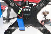 JJRC H25 Quadcopter Transmitter - Battery