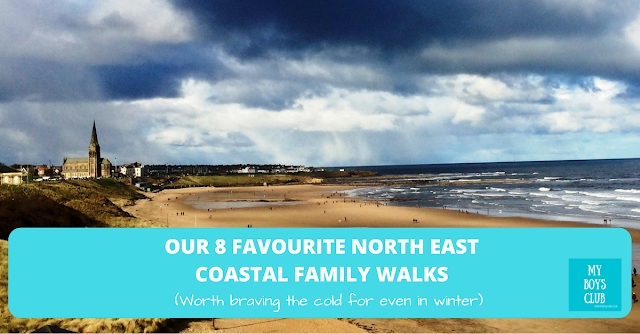 8 Favourite North East Coastal Family Walks