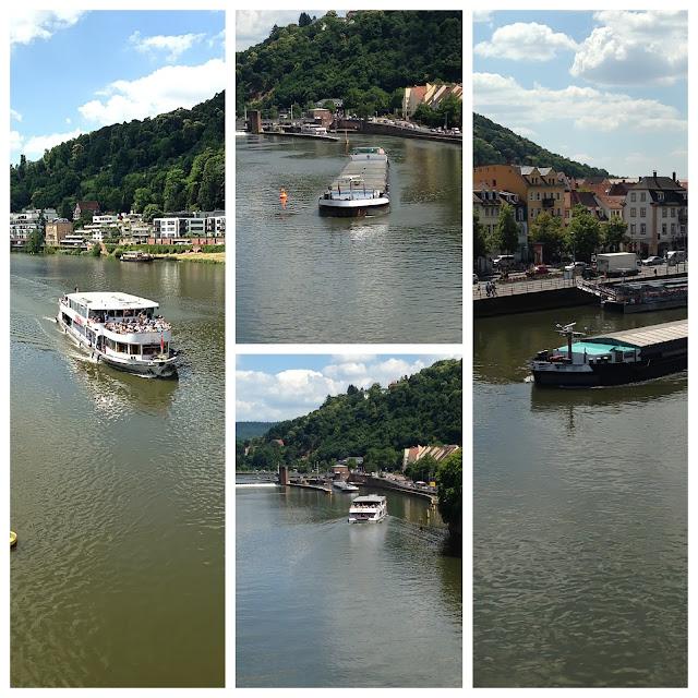 Neckar in Heidelberg