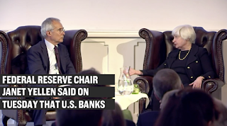 Yellen: Banks 'very much stronger'; another financial crisis not likely 'in our lifetime'