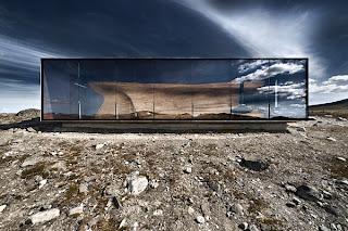 Observatorio increíble en Noruega.