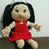 Como fazer Boneca Amigurimi  (completo) Shirleyzinha
