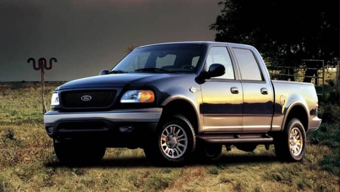 2001 Ford F150 Crew Cab
