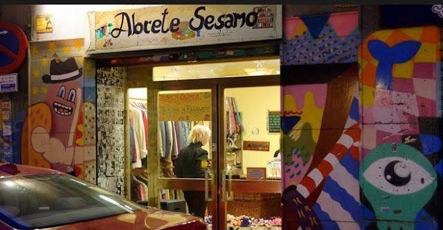 Tiendas de trueque en Madrid. Ábrete Sésamo.