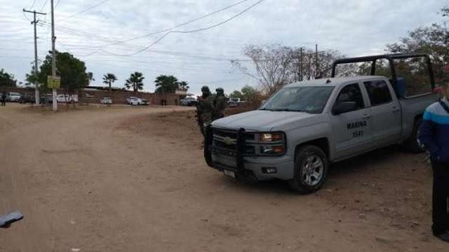 Marinos se topan en fuerte enfrentamiento contra sicarios en Sinaloa y dejan cuato ejecutados