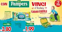 Logo Con Pampers vinci 90 Trolley cavalcabili
