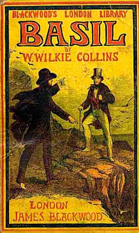 Portada del libro Basil de Wilkie Collins