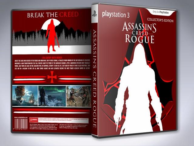 Capa Assasssins Creed Rogue Collectors Edition PS3