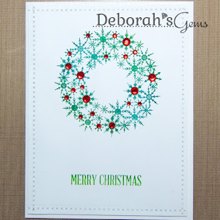 Merry Christmas sq - photo by Deborah Frings - Deborah's Gems