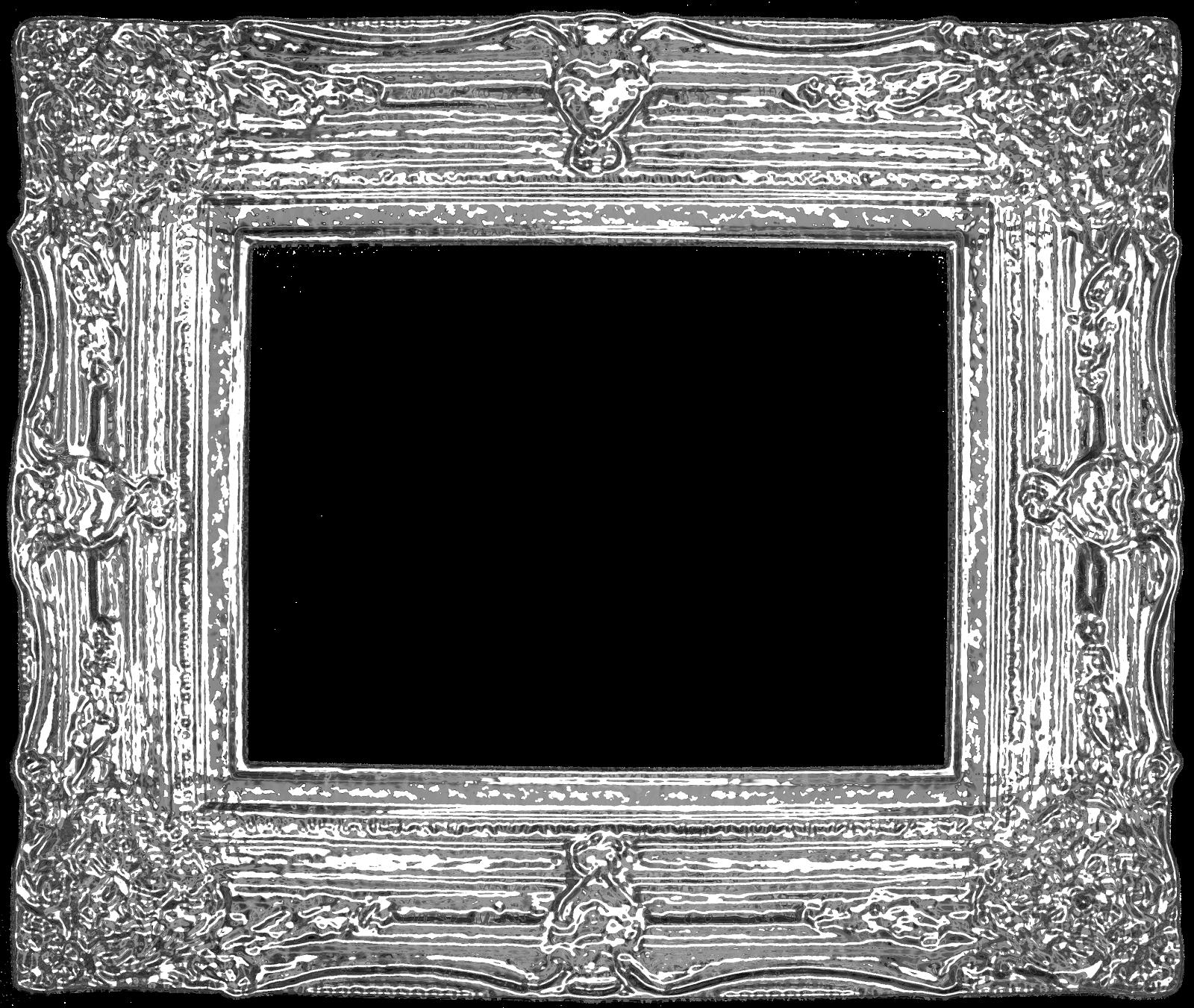 Freebie 4: Fancy Vintage Ornate Digital Frames!