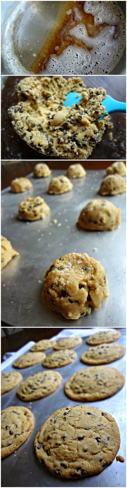 Browned Butter Mini Chip Cookies
