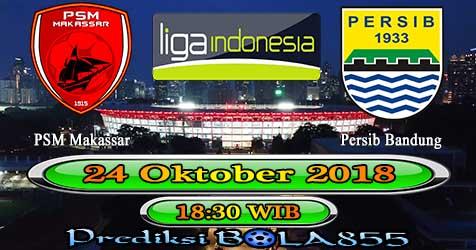 Prediksi Bola855 PSM Makassar vs Persib Bandung 24 Oktober 2018