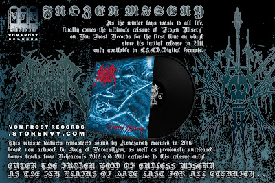 Nuclearhammer - Frozen Misery LP (Remastered) this spring....