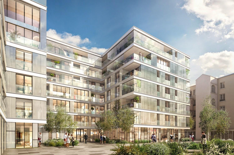 projet de logements neufs par Ogic place Bellecour
