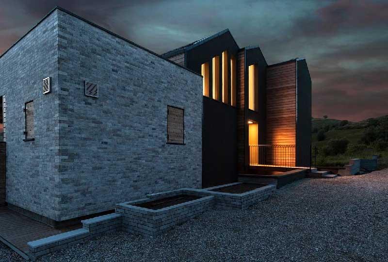 Casa Acadia progetto Studio Scaramucci