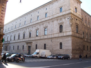 The Palazzo della Cancelleria is believed to be the earliest Renaissance palace in Rome