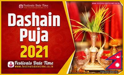 2021 Dashain Date Time, 2021 Dashain Nepali Calendar