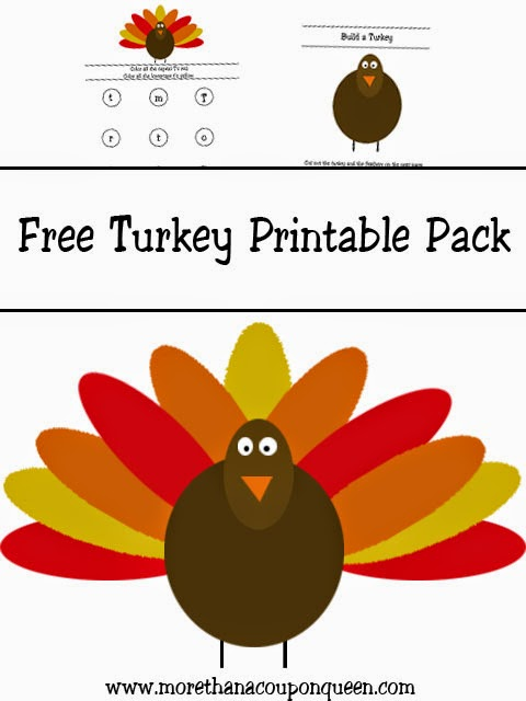 Free Turkey Printable Pack
