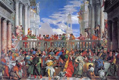 パオロ・ヴェロネーゼ、カナの婚宴、ルーブル美術館
