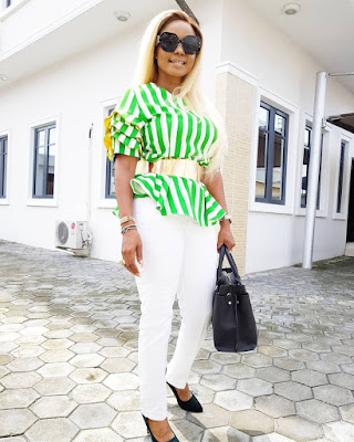 Iyabo Ojo fashion and style looks