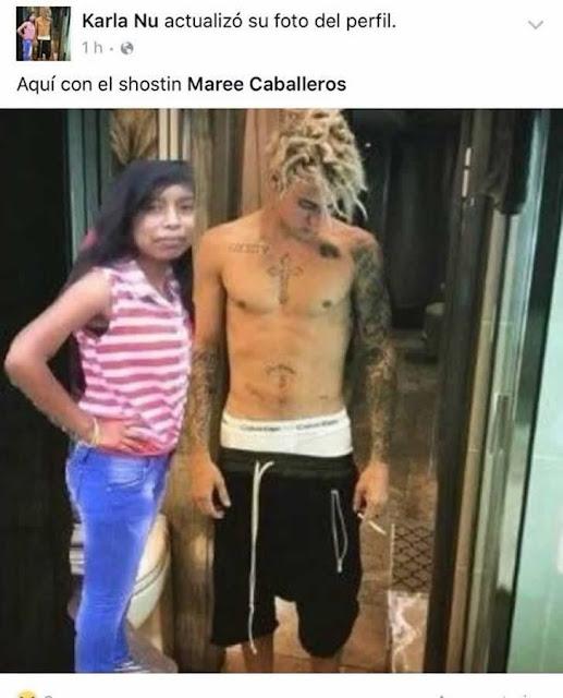Ela era fã de Justin Bieber e queria uma foto com ele a todo custo
