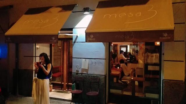 Restaurante Mesa 3, Tusolovive Madrid