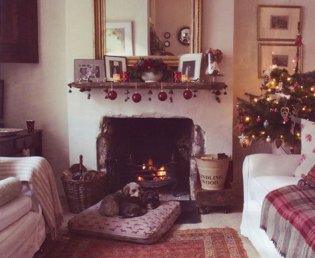 Lismary 39 s cottage pensando al natale - Camini decorati per natale ...