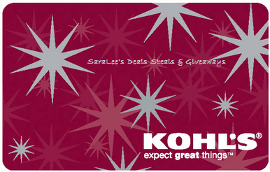 Enter the $50 Kohl's Gift Card Giveaway. Ends 10/9.