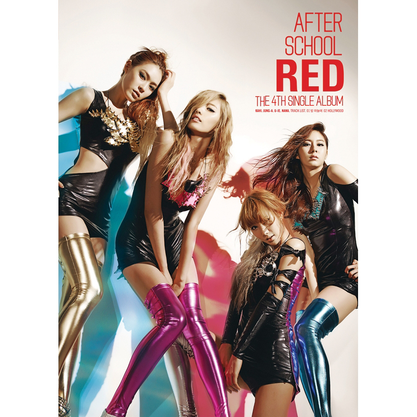 [Single] After School RED – The 4Th Single Album – RED (FLAC + ITUNES PLUS AAC M4A)